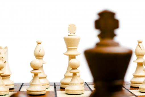 Free Stock Photo of chess close-up