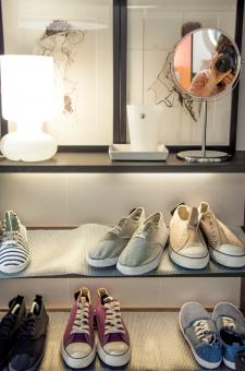 Free Stock Photo of closet with shoes