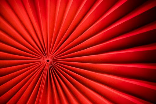 Free Stock Photo of Red paper fan texture