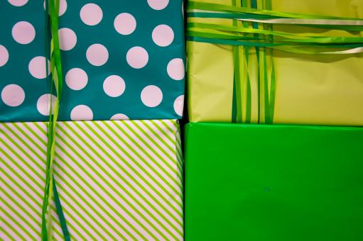 Free Stock Photo of gift boxes