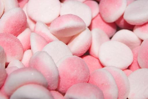 Free Stock Photo of Pink candy