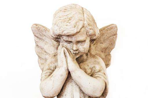 Free Stock Photo of Angelic angel statue