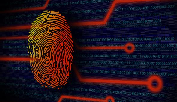Free Stock Photo of Online Security Concept - Fingerprint