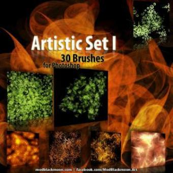 Free Stock Photo of Artistic Brushes 1