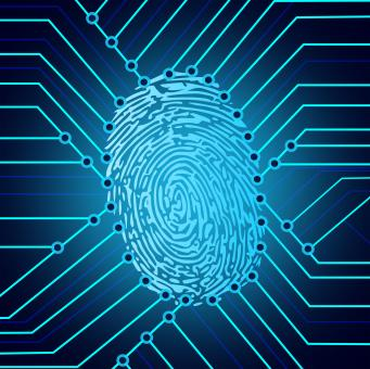Free Stock Photo of Biometric fingerprint identification