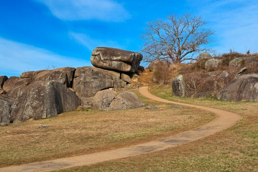 Free Stock Photo of Devil's Den - HDR