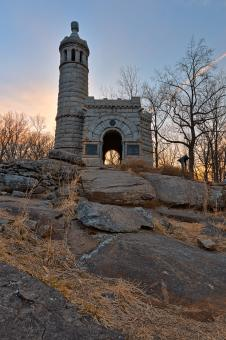 Free Stock Photo of Sunrise Gettysburg Castle - HDR
