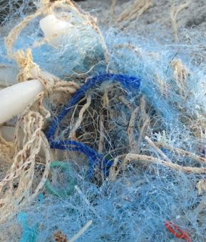 Free Stock Photo of Tangled Fishing Nets