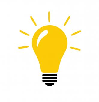 Free Stock Photo of Light bulb with idea concept vector