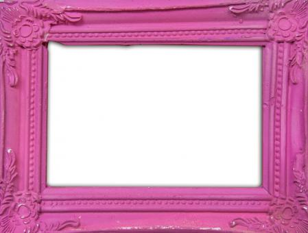 Free Stock Photo of Pink classic photo frame