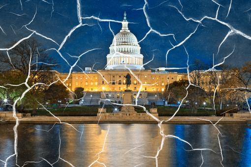 Free Stock Photo of Fractured Congress
