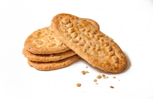 Free Stock Photo of Delicious wheat biscuits cookies