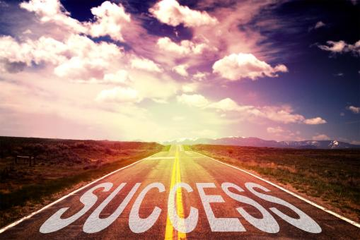 Free Stock Photo of The Road to Success