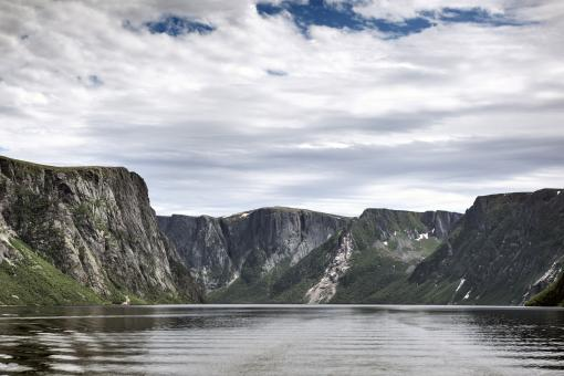 Free Stock Photo of Western Brook Pond