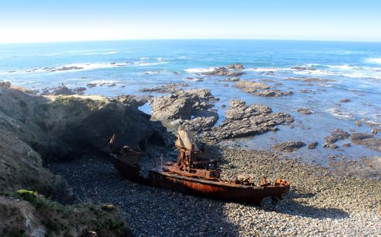 Free Stock Photo of Shipwreck