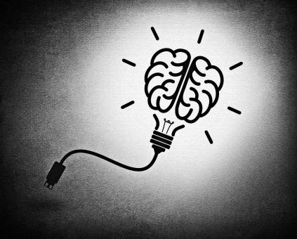Free Stock Photo of Creative brain idea concept