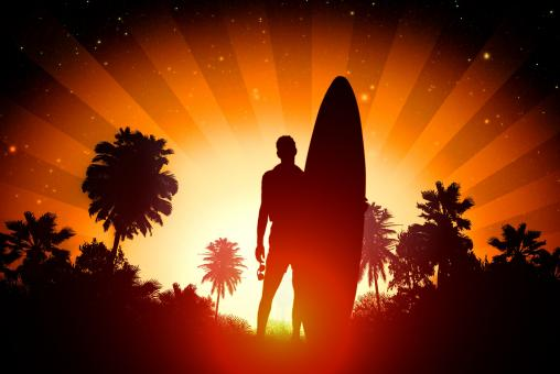 Free Stock Photo of Surfer - Surfing lifestyle concept