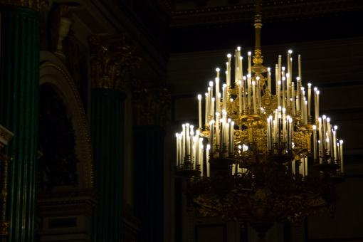Free Stock Photo of Chandeliers