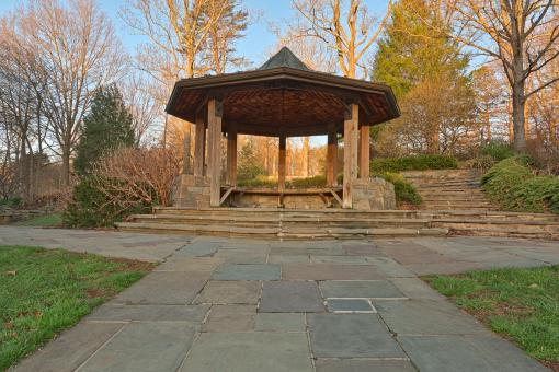 Free Stock Photo of Brookside Gardens Gazebo - HDR