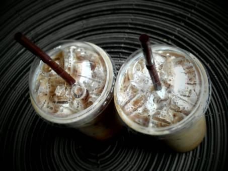 Free Stock Photo of Iced Coffees