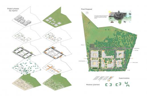 Free Stock Photo of Illustration of a proposal for urban design and landscape architecture