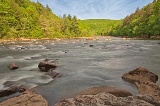 Free Stock Photo of Youghiogheny River - HDR