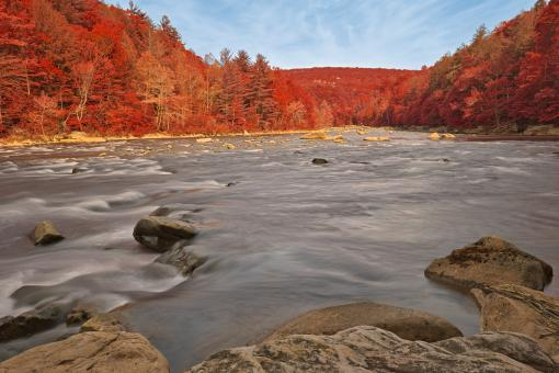 Free Stock Photo of Ruby Youghiogheny River - HDR