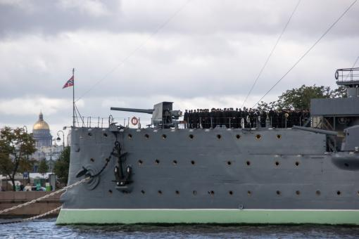 Free Stock Photo of Cruiser Aurora