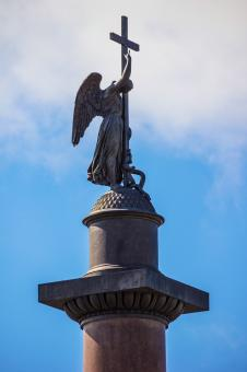 Free Stock Photo of Statue of angel