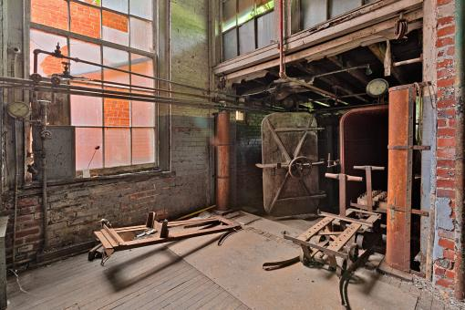 Free Stock Photo of Abandoned Lonaconing Silk Mill - HDR
