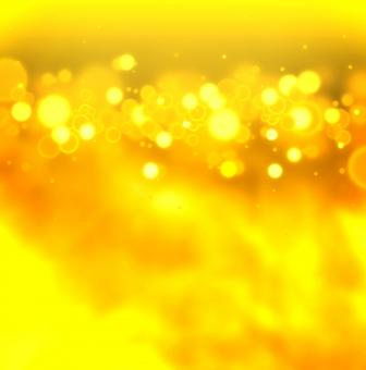 Free Stock Photo of Golden bokeh on gold background