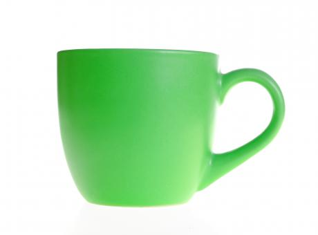 Free Stock Photo of Green cup