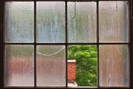 Free Stock Photo of Weathered Window Frame - HDR