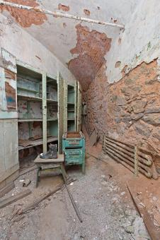 Free Stock Photo of Prison Pantry Cell - HDR