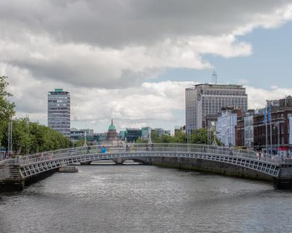 Free Stock Photo of Ha penny Bridge