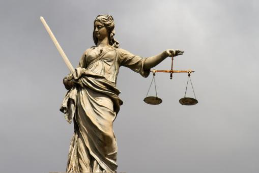 Free Stock Photo of Lady Justice at Dublin Castle
