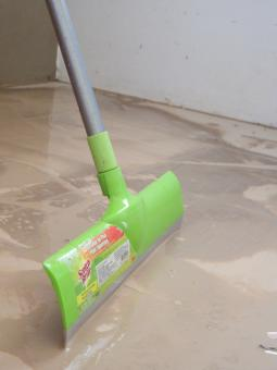 Free Stock Photo of Cleaning up a dirty floor