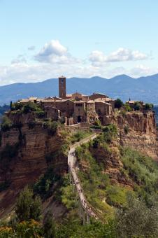 Free Stock Photo of Civita di Bagnoregio