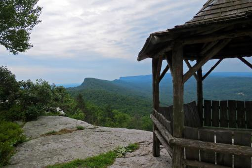 Free Stock Photo of A Trailside Gazebo At Mohonk Mountain House Resort