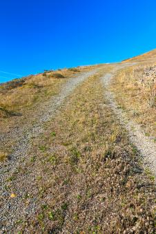 Free Stock Photo of Point Reyes Winding Trail - HDR