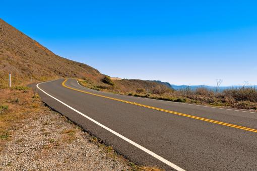Free Stock Photo of Point Reyes Scenic Route - HDR
