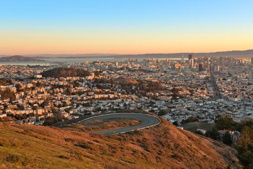 Free Stock Photo of San Francisco Sunrise - HDR