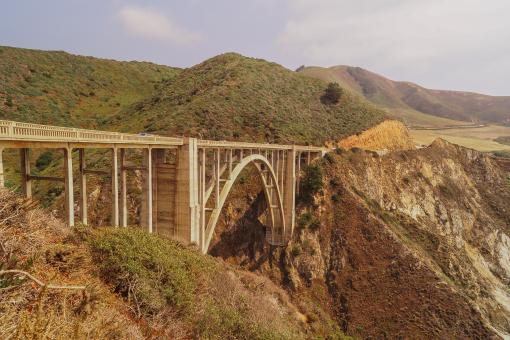Free Stock Photo of Bixby Bridge