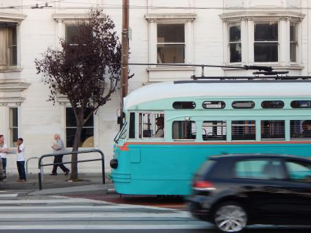 Free Stock Photo of Trolley San Francisco