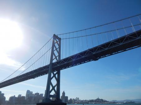 Free Stock Photo of Bay Bridge San Francisco