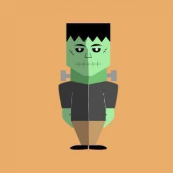 Free Stock Photo of Frankenstein Halloween Vector