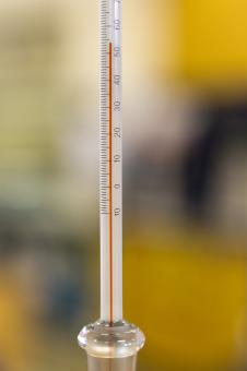 Free Stock Photo of Thermometer in Focus