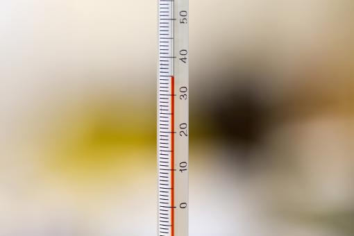 Free Stock Photo of Thermometer Close Up