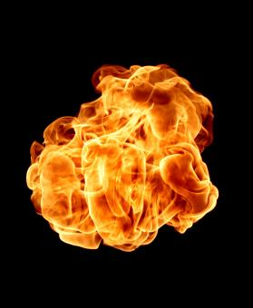 Free Stock Photo of Fire ball
