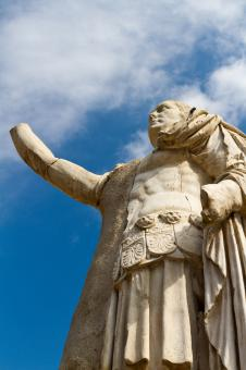 Free Stock Photo of Statue of Roman